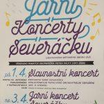 plakát Jarních koncertů